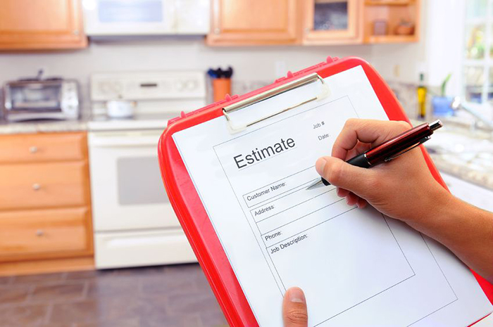 how to give a house cleaning estimate